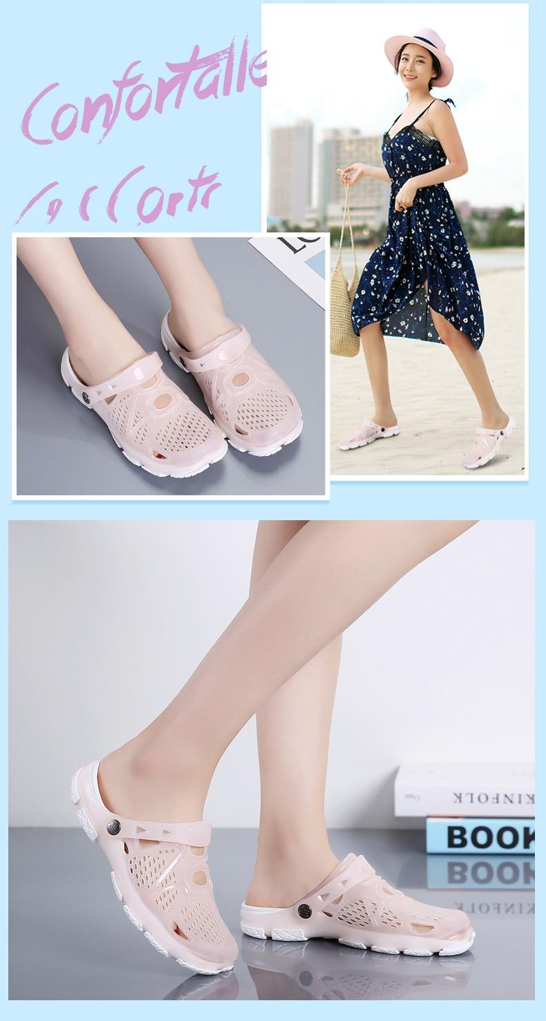 HTB1mNtrQMHqK1RjSZFgq6y7JXXak Women Sandals Summer Slippers 2019 New Women Outdoor Beach Casual Shoes Cheap Female Sandals Water Shoes Sandalia women