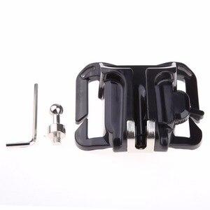 Image 5 - Rápido carregamento cabide de vídeo dslr câmera saco liberação rápida cinto da cintura coldre fivela botão montagem clipe para digital venda quente