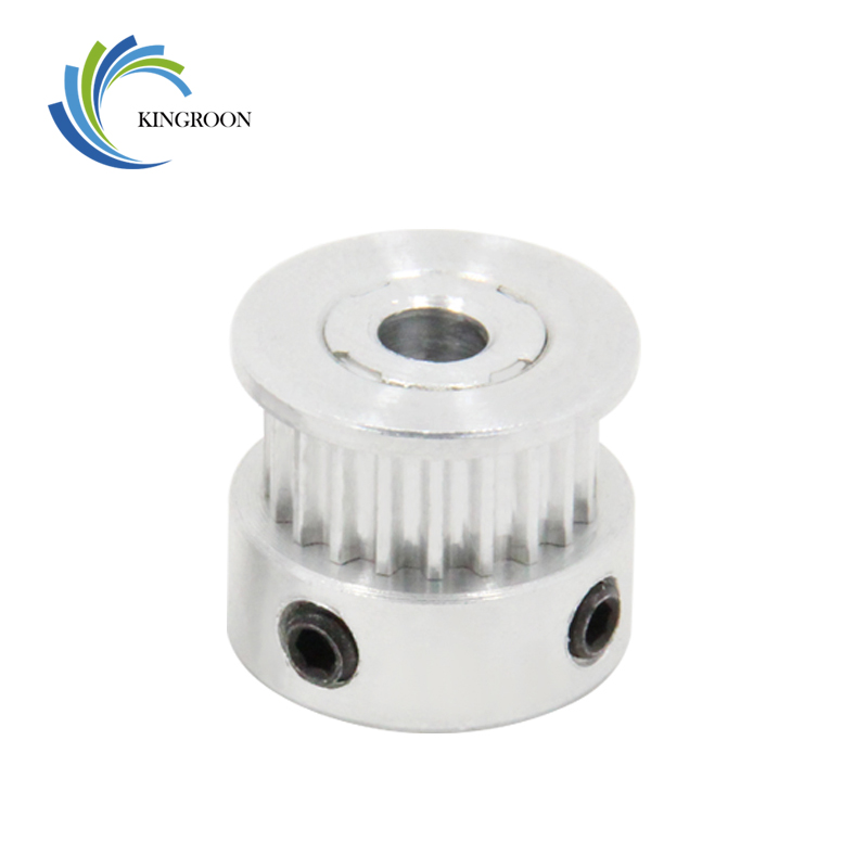 Computer & Office ... Office Electronics ... 32434506931 ... 3 ... GT2 20 tooth Timing Pulley Aluminum 3D Printer Parts 2GT 20teeth Bore 5mm Width 6mm Part Synchronous Wheel Gear with Screw Teeth ...