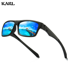 KARL Retro Men Sunglasses Sports Polarized Colorful Coated Luxury Brand Designer Women gafas de sol hombre