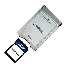 2019 новый год оптовая качество SD карта адаптер Onefavor карта PCMCIA ридер для Mercedes Benz MP3 карта памяти адаптер продвижение