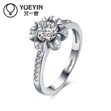 Bagues couleur or rose pour femmes bijoux en cristal anelli donna Super offre anneaux design Original prix usine
