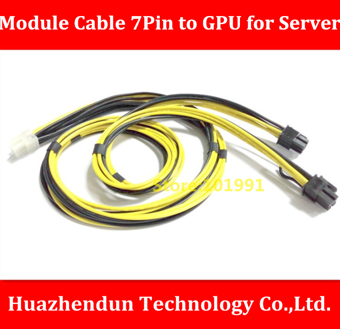 High Quality  New Product  16AWG Module Cable 7Pin Male to GPU 6Pin Male +GPU 8Pin(6+2) Male for Server/for Power   80CM high quality new product 16awg module cable 7pin male to gpu 6pin male gpu 8pin 6 2 male for server for power 80cm