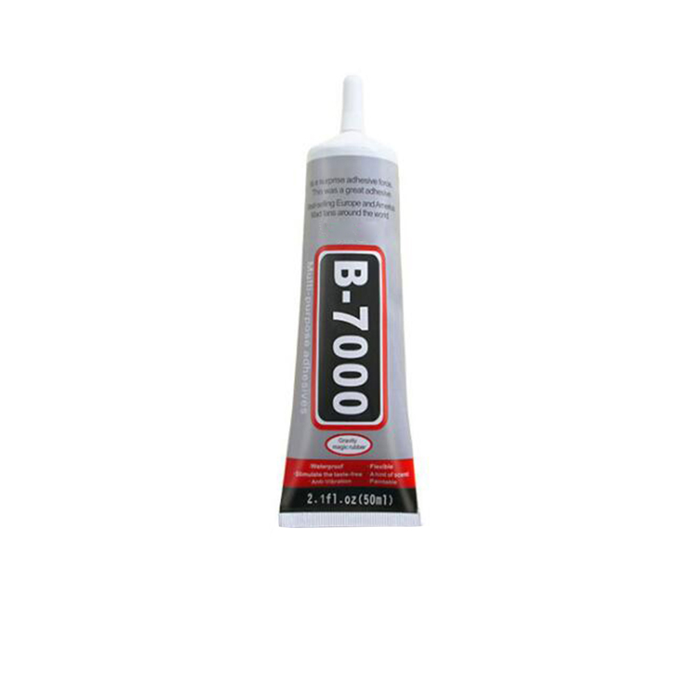 1 pcs 50ml Best B-7000 Multi Purpose Glue Adhesive Epoxy Resin Diy Crafts Glass Touch Screen Cell Phone Super glue B7000 image