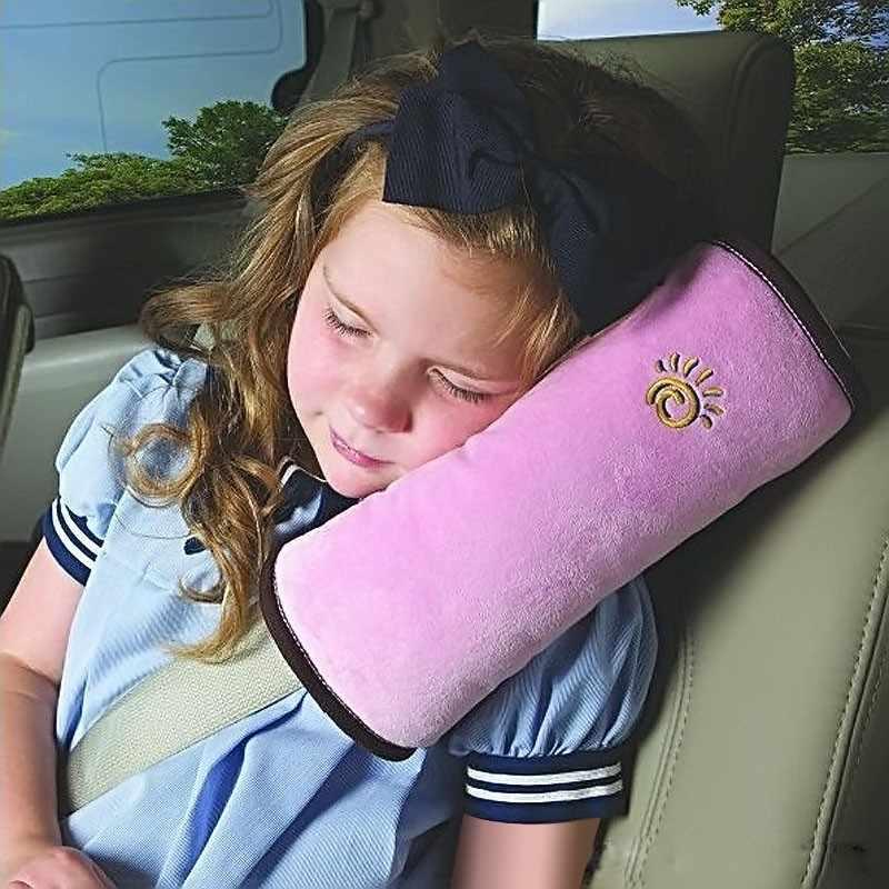 Детские подушки в автомобиль, подушка для путешествий, авто ремень безопасности, подушка на плечо, подушка для сна, Детская Автомобильная защитная подушка