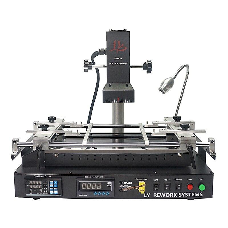 Infrarrojo Bga rework estación LY IR8500 v.2 soldadura para placa madre Chip PCB remodelado reparación