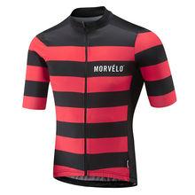 9D pad, 2018 Morvelo летние дышащие короткий рукав Велоспорт Джерси Ropa De Ciclismo Hombre велосипед Костюмы Топы корректирующие MTB велосипедный спорт одежда