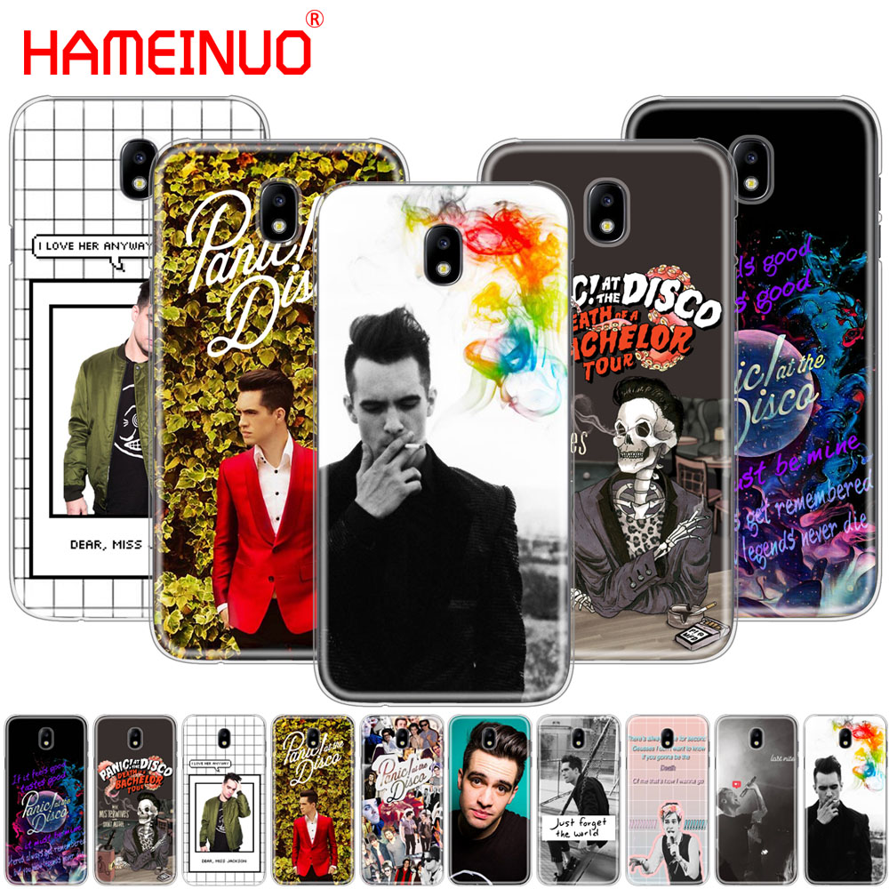 HAMEINUO Panic At The Disco brendon urie cover phone case for Samsung Galaxy J3 J5 J7 2017 J527 J727 J327 J330 J530 J730 PRO