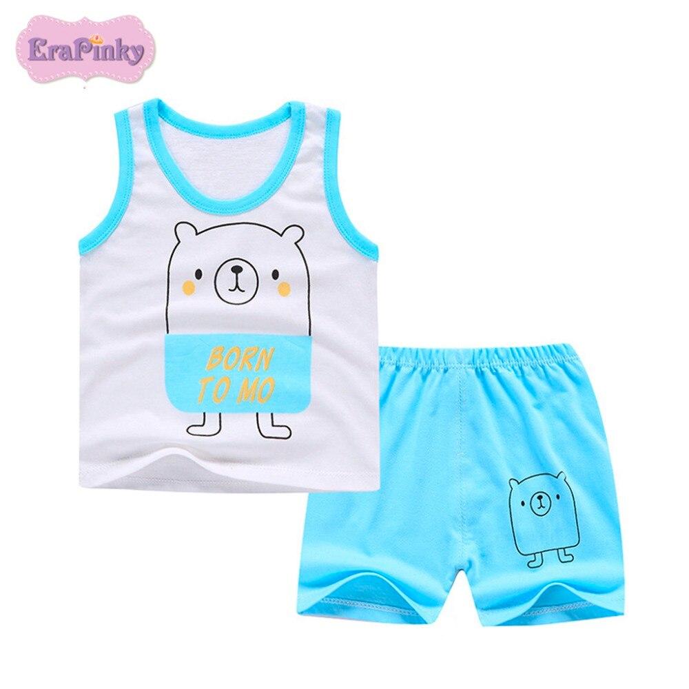 Erapinky Детские комплекты летней одежды для мальчиков 2018 Носки с рисунком медведя из  ...