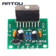 1set TDA7297 Amplifier Board Spare Parts DC 12V Grade 2.0 Du