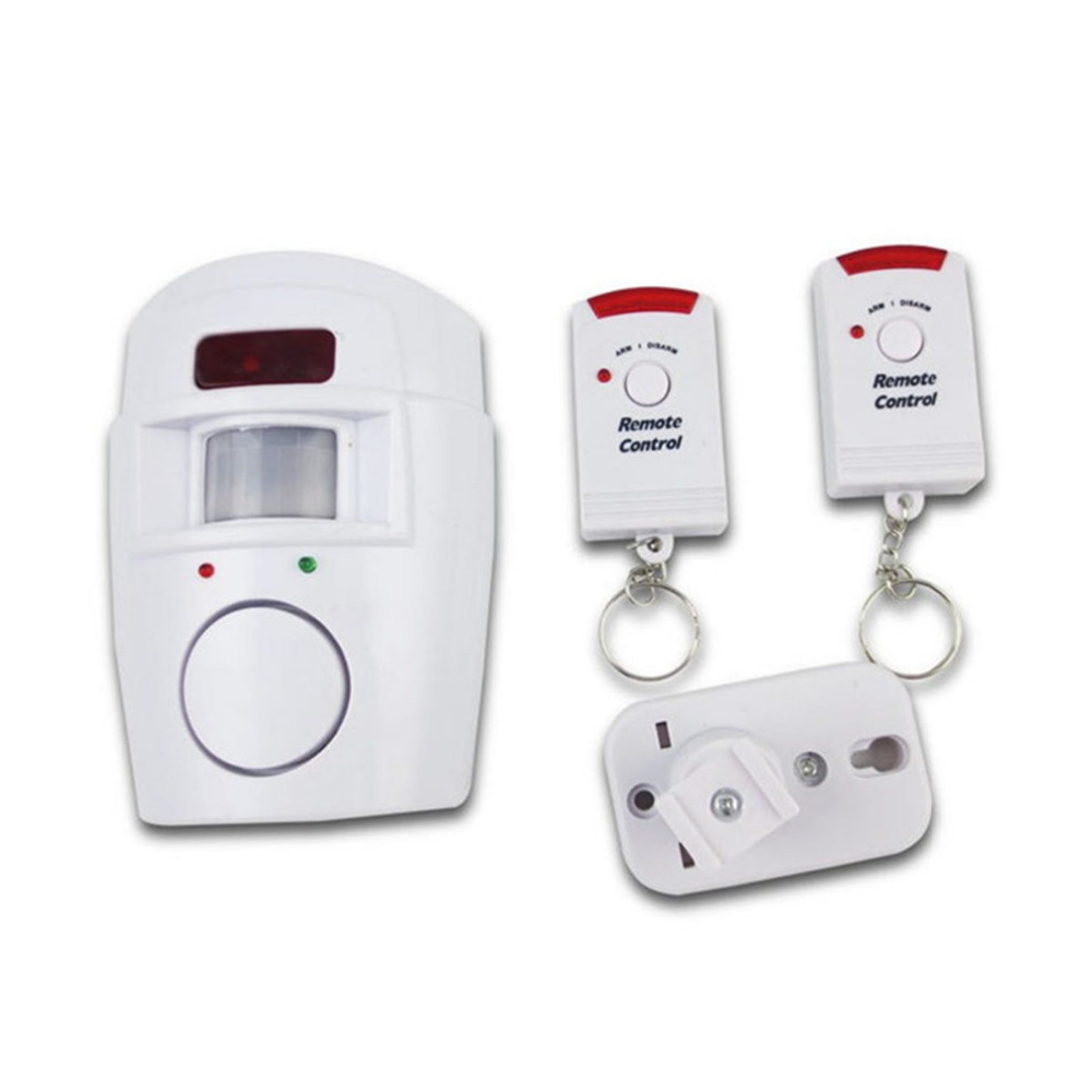 Home Security PIR MP Alert Infrared Sensor Anti-theft Motion Detector Alarm Monitor Wireless Alarm system+2 remote controller home security pir mp alert infrared sensor anti theft motion detector alarm monitor wireless alarm system 2 remote controller
