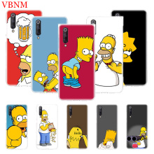 Funny Homer J. Simpson Soft Silicome Phone Case For Xiaomi Mi 5S Plus 5X 6X 8 9 SE Lite F1 Play Mix 3 Art Customized Cases