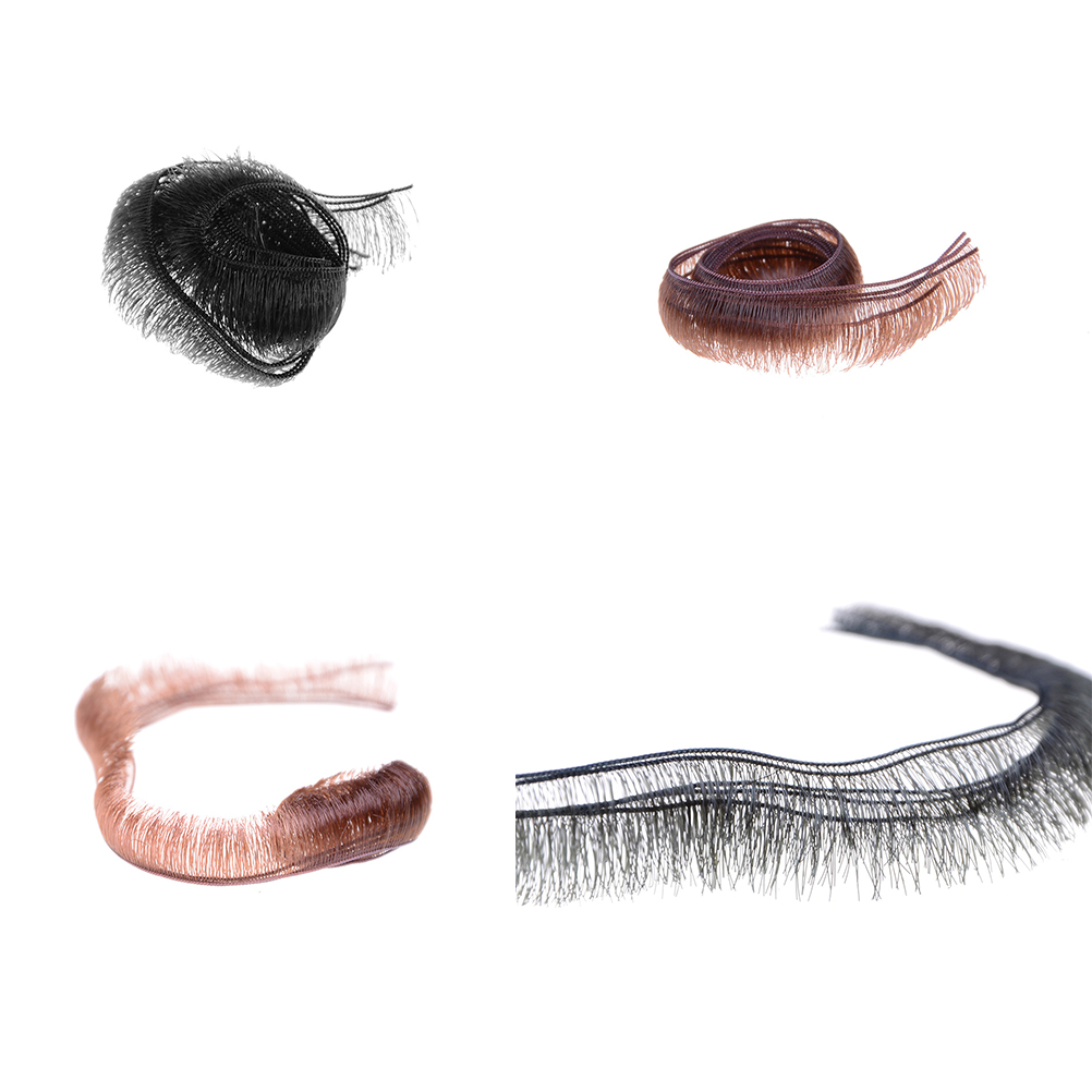 5pcs/lot 0.5/0.8/1.0cm Width Eyelashes For Baby Dolls Accessories Kids Children Toy
