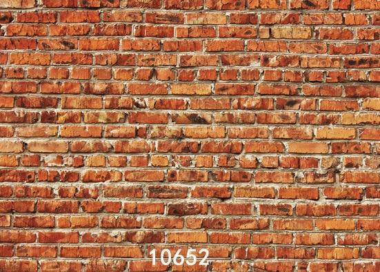 Retro Brick Wall Photography Background Vinyl Decoration Photo Studio - Camera and Photo