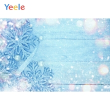Yeele Snowflake Light Spot Dreamy Scene Wood Board Photography Backgrounds Personalized Photographic Backdrops For Photo Studio