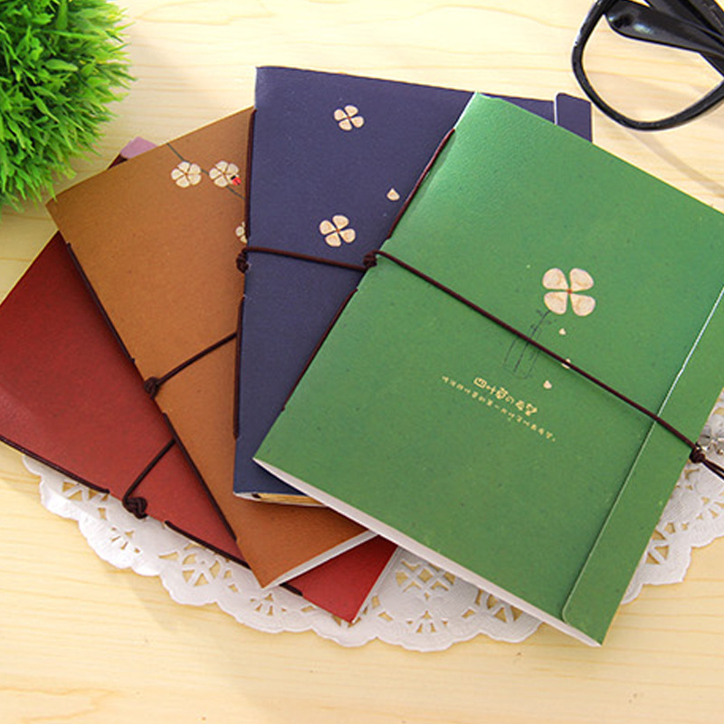 Lucky Clover Notebook Notepad Daily Memos Note Book Memo Pad Small School Supplies For Kid Korea Creative Stationery