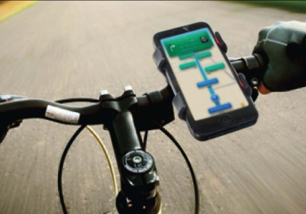 Universal Motorcykel MTB Bike Cykeltelefonhållare Styrhållare för - Reservdelar och tillbehör för mobiltelefoner - Foto 5