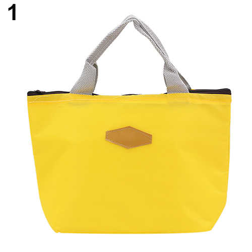 2019 New  Lunch Bag Thermal Insulated Lunch Box Tote Cooler Bag Bento Pouch Lunch Container School Food Storage Bags