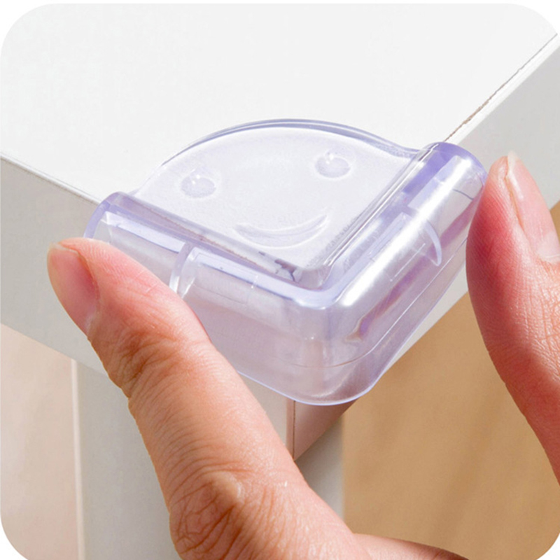 8 Pcs <font><b>Baby</b></font> Safety <font><b>Products</b></font> Child Kids Safety <font><b>Baby</b></font> <font><b>Proof</b></font> Plastic Table Corner Protector Edge Protection Guard Security corner image