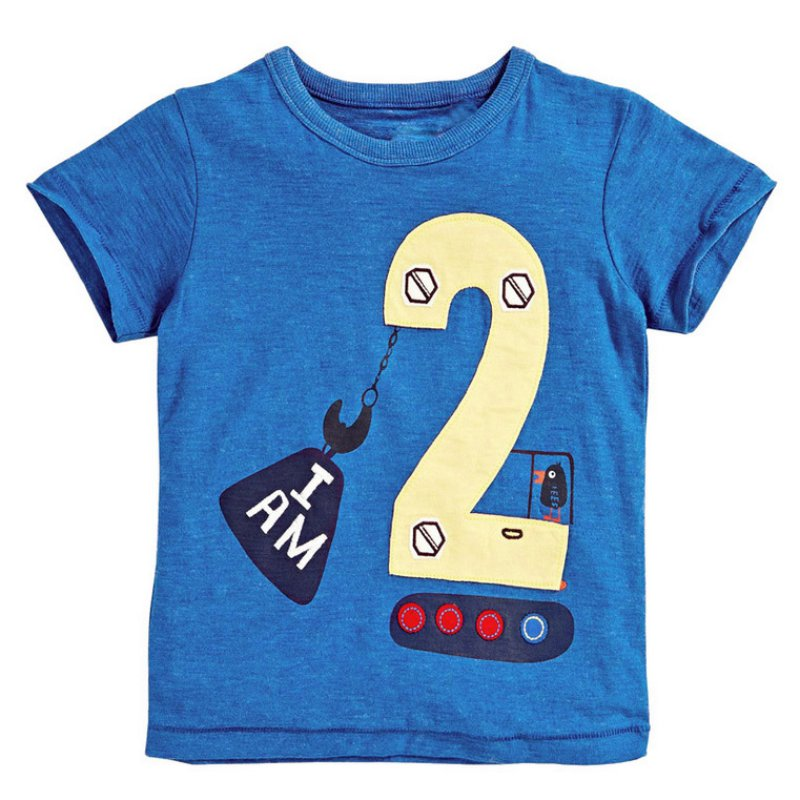 Online buy wholesale birthday shirt from china birthday for Boys printed t shirts