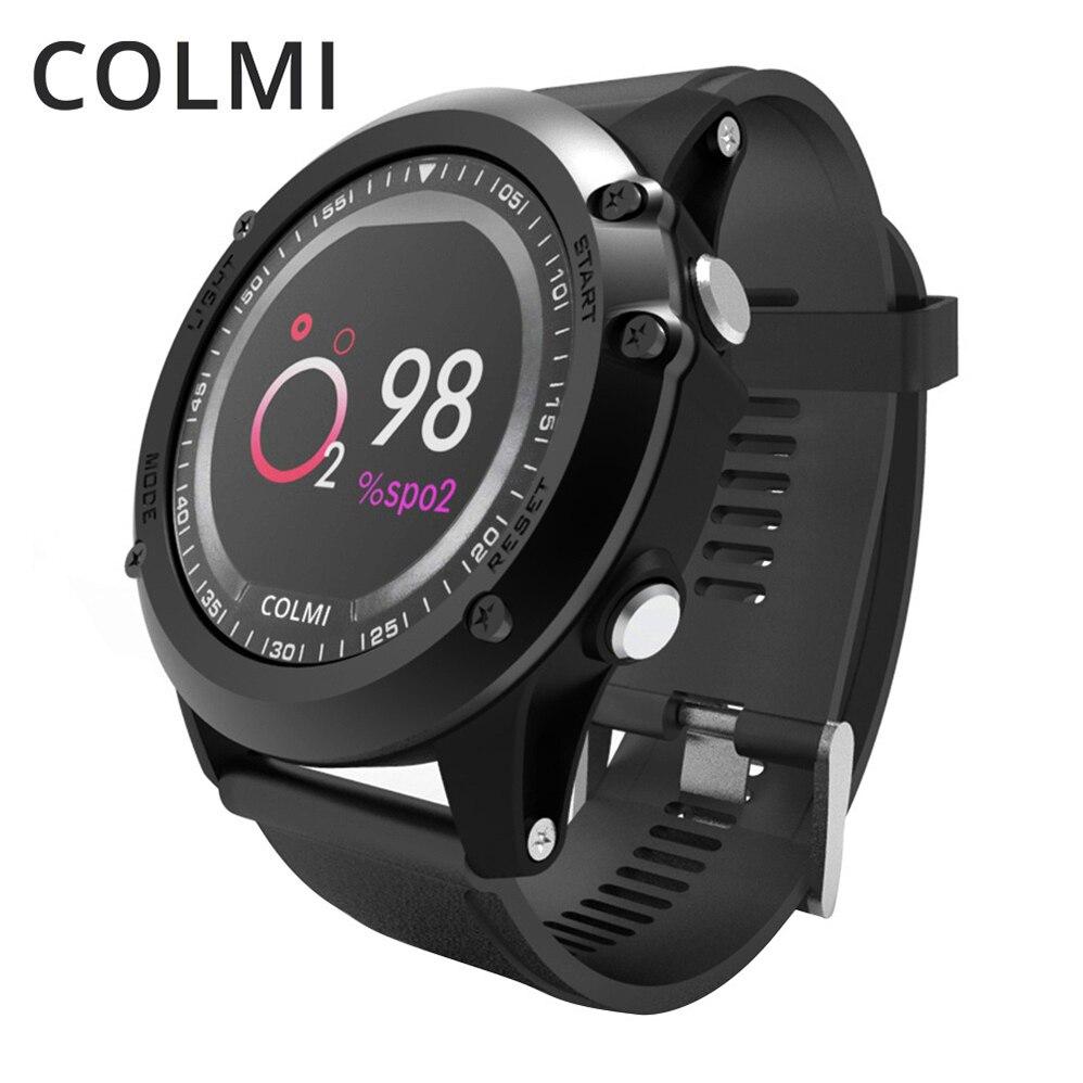 COLMI T2 Montre Smart Watch Moniteur de Fréquence Cardiaque Étanche Push Message Bord Hommes Fitness Santé Sommeil Tracker Pour iphone 6 Huawei Xiaomi