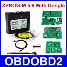 Новейшая версия XPROG-M 5.6 с USB Dongle ЭКЮ программист XPROG М V5.6 ЭБУ чип-тюнинг x-прог м коробка 5.7 Чип Tunning Бесплатная доставка