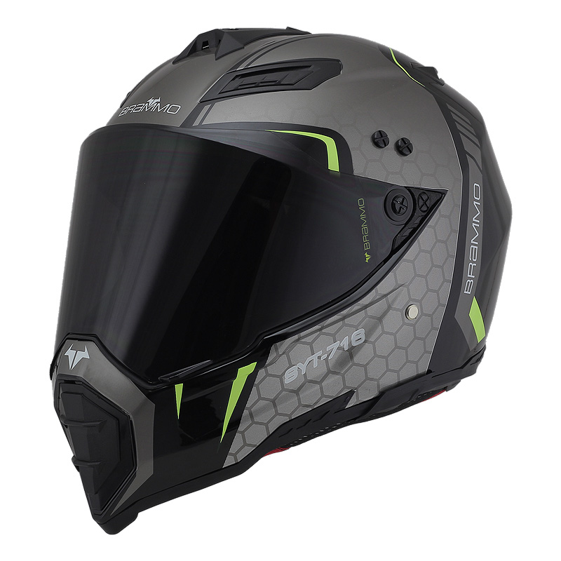 Buy brammo motocross mx helmet motos for Best helmet for motor scooter