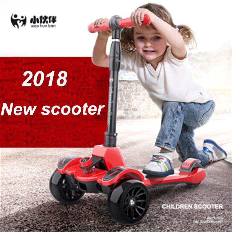 Cadeau pour enfants enfants Scooter 3-12 ans enfant Yo voiture bébé jouets patinage toboggan pédale voiture SkateBoard dérive voiture