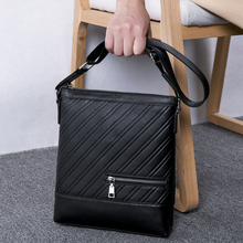 купить BAQI Brand Men Handbags Genuine Leather Cowhide High Quality Men Crossbody Messenger Bag Shoulder Bags 2019 Fashion Business Bag по цене 2507.55 рублей