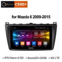 Ownice C500+ G10 Octa Core 2GB RAM 32G ROM Android car dvd 8.1 gps For Mazda 6 Summit 2009 2015 wifi 4G LTE Radio DAB+ DVR