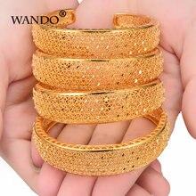 Wando 4 шт/лот винтажный женский браслет в богемном стиле золотистого