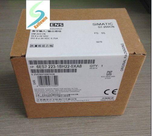 6ES7223-1BH22-0XA8 original S7-200CN  SIMATIC PLC Module , DIGITAL I/O EM 223  8 DI DC 24 V 6ES7 223-1BH22-0XA8 6ES72231BH220XA8 6es7223 1bh22 0xa0 6es7 223 1bh22 0xa0 compatible simatic s7 200 plc module fast shipping