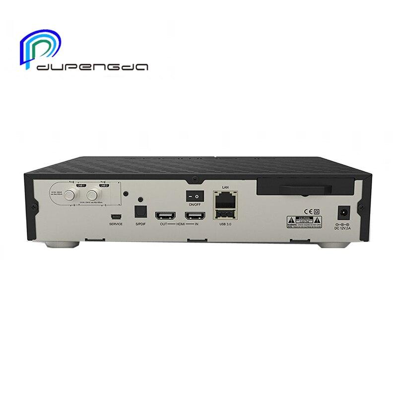 DUPENGDA 2017 Date Modèle DVB-S2 Tuner Tuner dm 900 UHD 4 K E2 Linux TV Récepteur 2160 p PVR Satellite Récepteur Tv boîte