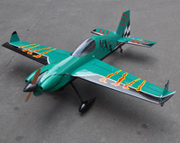 MXS R 20cc 3D Balsa Wood Fixed Wing RC Airplane Model Aircraft 64 Green