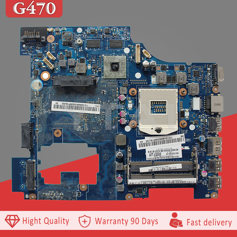 YTAI LA-6751P G470 mainboard for Lenovo IdeaPad G470 laptop Motherboard PIWG1 LA-6751P PGA989 HM65 DDR3 mainboard fully tested цена в Москве и Питере