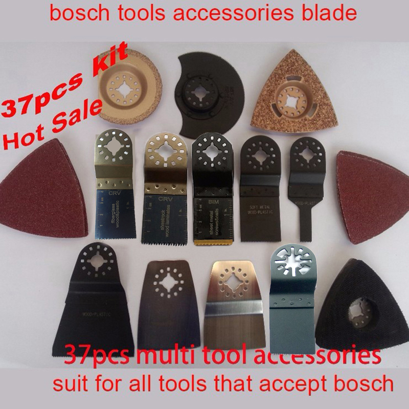2018 New Arrival Saw Blade Renovator Tch Tools Blade Kit 37pcs Saw For Wood Working Oscillating At Good Price And Fast Delivery