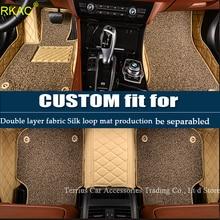 Esteiras do assoalho do carro para Chevrolet Captiva Epica RKAC 5D acessórios forros tapete tapetes do carro-styling heavy duty (2006-)