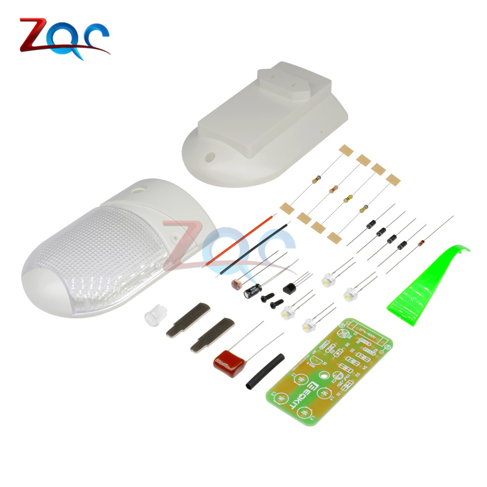 1W LED Light Control Night-Light DIY Kit Photosensitive Sensor CON-L Nightlight Electronic Production Suite Electronic DIY Kit 8