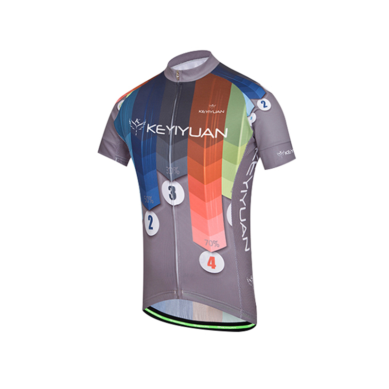 KEYIYUAN Short Sleeve Men's Summer Cycling Short Tunic Outdoor Riding Sportswear Equipment|cycling short|summer cycling|cycling summer - title=