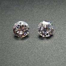 BOAKO 50Pcs/Pack Single/Double Holes Crystal Zirconia stones AAA Cubic Zirconia Stone loose DIY Jewerly Beads Zircon Stone Z4 yoursfs романтические серьги для ювелирных изделий для свадьбы элегантный золотой серебристый цвет aaa cubic zirconia stone earring