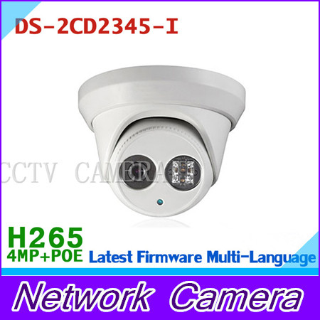 HIK POE IP Camera DS-2CD2345-I Update Version from DS-2CD2335-I Support H.265 ONVIF Infrared IP67 Waterproof Camera newest hik ds 2cd3345 i 1080p full hd 4mp multi language cctv camera poe ipc onvif ip camera replace ds 2cd2432wd i ds 2cd2345 i
