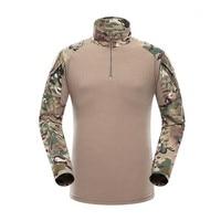 Nuovo Autunno Inverno Soldato T-Shirt Combattimento Dell'esercito Tactical T Shirt Militare Degli Uomini Manica Lunga T-shirt Vestiti Degli Uomini