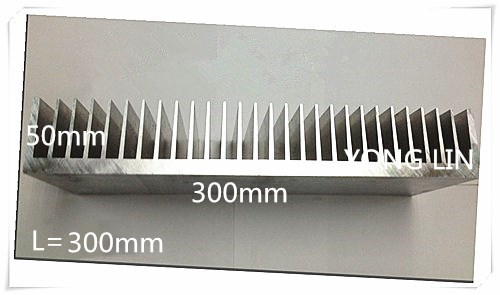 Aluminum/Aluminum radiator/Heatsink High-power heat sink Aluminum Radiator 300*300*50white customize 1pcs heat sink 200 70 30mm silver high quality ultra thick aluminum radiator