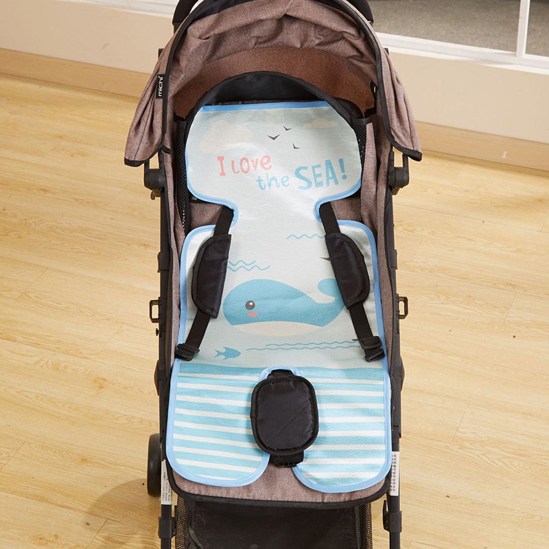 2019 Baby Kid Summer Cartoon Pattern Sleeping Mat Breathable Stroller Seat Mat Cool Liner Cushion New