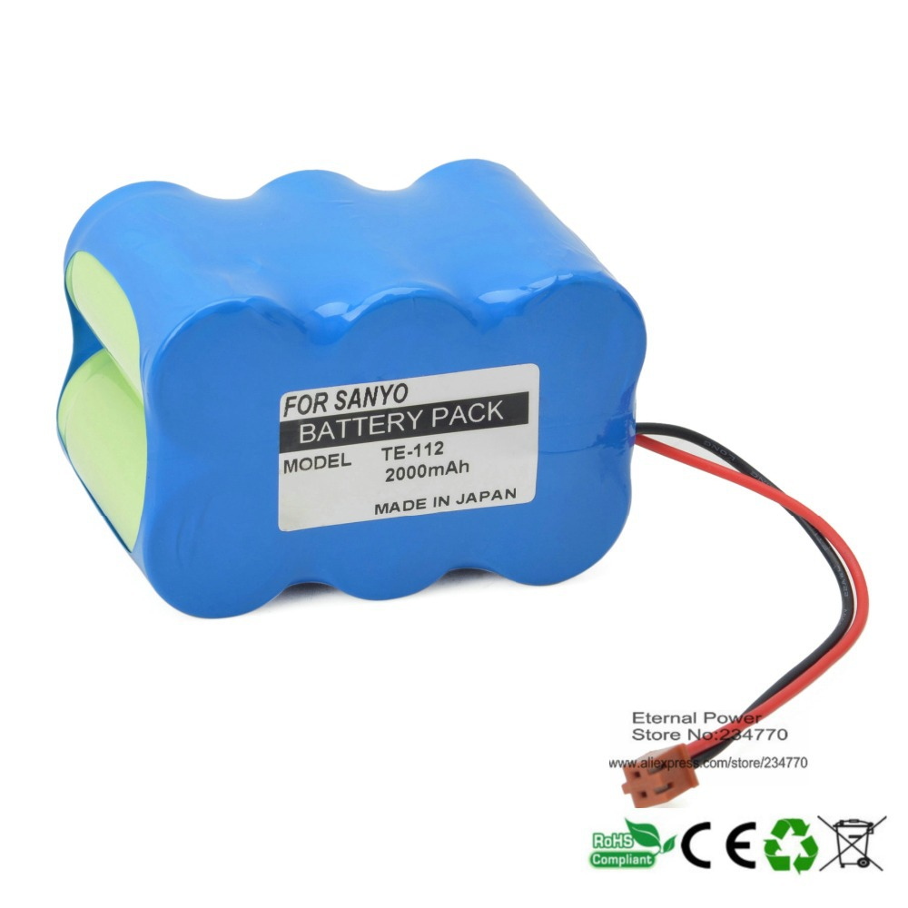 Replacement FOR Terumo 6N-1200SCK TE-112 infusion pump Medical Battery Notice the difference Another Terminal Interface