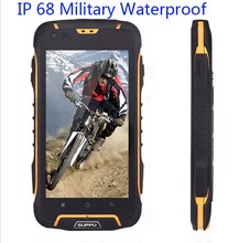 IP68 Waterproof phone 1GB RAM Shockproof original SUPPU F6 MTK6582 Quad Core IPS Rugged Smartphone GPS Android 4.4 Dustproof GPS