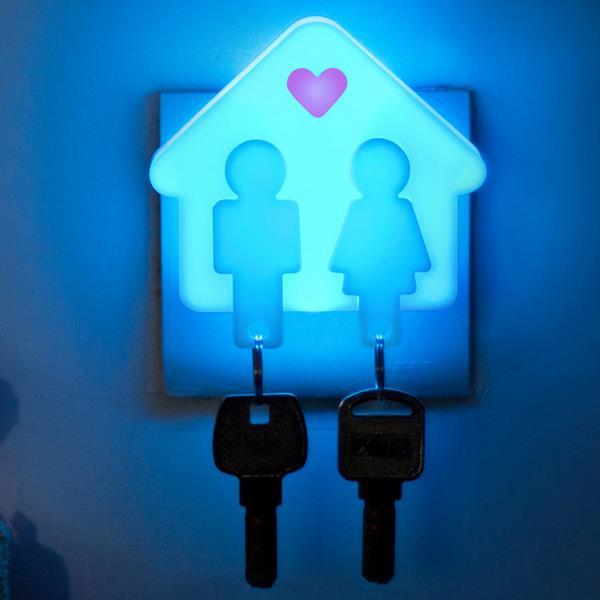 Liebe Schlüsselanhänger Ring Led Nachtlicht Schlafzimmer Korridor Halle  Romantische Wand Schlüsselanhänger Lampe 2 In 1, Brasilien Valentinstag In  Liebe ...