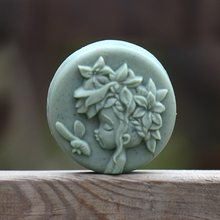 Mori Girl Series Silicone Soap Mold for Natural Handmade Bath Bomb Chocolate Candy Mould