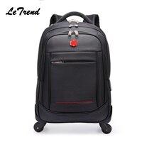 Новый многофункциональный Rolling Чемодан 20 22 Spinner рюкзак дорожная сумка ролики тележки нести на колесах школьная сумка