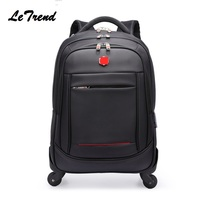 New Multifunction Rolling Luggage 2022Spinner Backpack Shoulder Travel Bag Casters Trolley Carry On Wheels School Bag